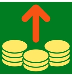 Payout Icon from Commerce Set vector image