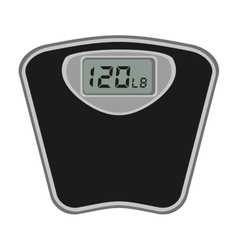 Scale digital measure icon vector