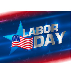 labor day wallpaper vector image