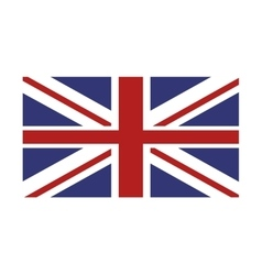 Union jack great britain flag icon vector