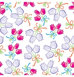 Bouquet pattern vector