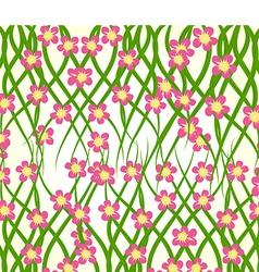 Spring flower background vector