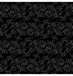 Dark seamless pattern for wall wallpaper fabric vector