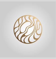 coffee logo icon vector image vector image
