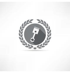 Piston icon vector