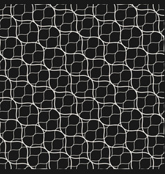 seamless pattern diagonal wavy lines grid mesh vector image vector image