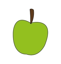 Isolated apple design vector