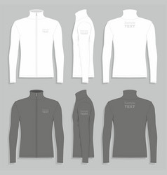 mens sport jacket vector image