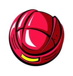 The helmet vector image