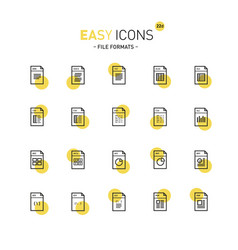 Easy icons 22d database vector