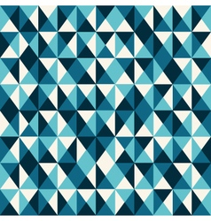 Pattern low poly blue vector