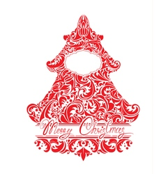 firtree ornament 2 380 vector image
