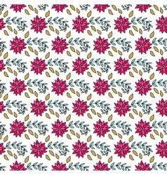 Hand drawn seamless vintage pattern vector image