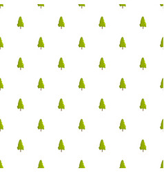 Yew tree pattern seamless vector