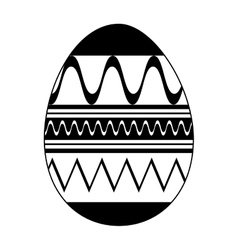 Easter egg icon image vector