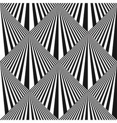 Seamless pop art background vector