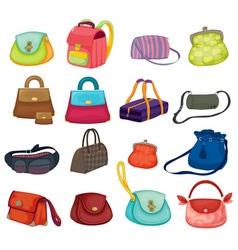 Bags series vector image