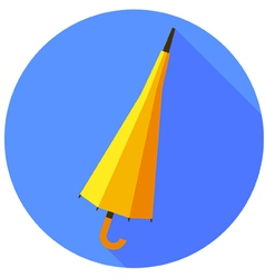 Icon of umbrella vector image
