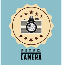 Retro icon design vector