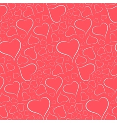 Romantic bright background with a white outline vector