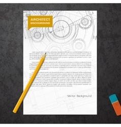 Set of corporate identity templates vector