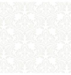 floral damask pattern background vector image vector image