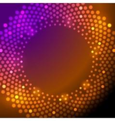 Shiny sparkling lights background vector