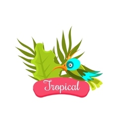 Tropical Summer Vacation vector image vector image