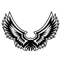 wing logo graphic vector image