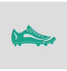 American football boot icon vector