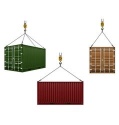 Cargo container 108 vector