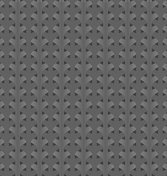 Gray abstract background braided vector