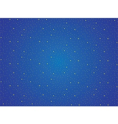 Sky with yellow stars background vector