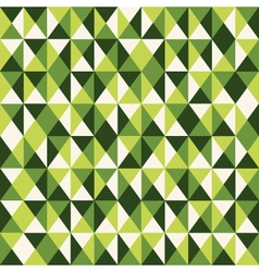 Pattern low poly green vector