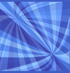 blue dynamic background - design from curved ray vector image