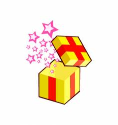 gift pops vector image