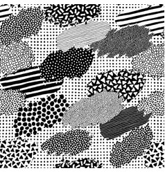 irregular patchwork pattern vector image