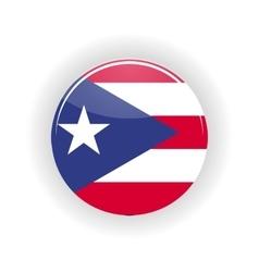 Puerto rico icon circle vector