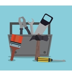 repair tools construction design vector image