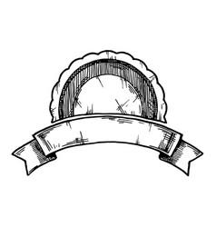 retro label vector image vector image
