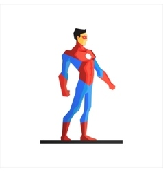 Superhero ironman vector