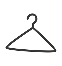 Hanger icon isolated design vector