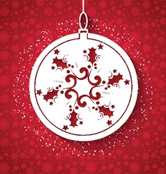 christmas background 0312 vector image vector image