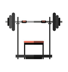Gym icon image vector