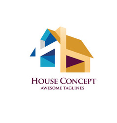 House design concept vector