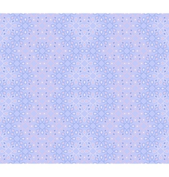 Seamless pattern in cool winter colors vector