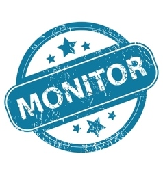 Monitor round stamp vector