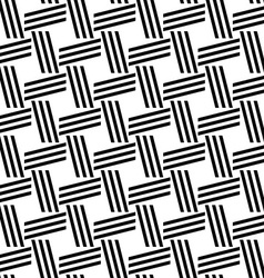Monochrome repeating line pattern vector