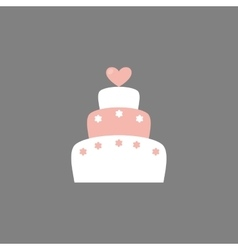 Cute wedding object vector