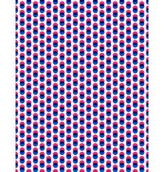 Abstract overlay polka dot seamless background vector image vector image